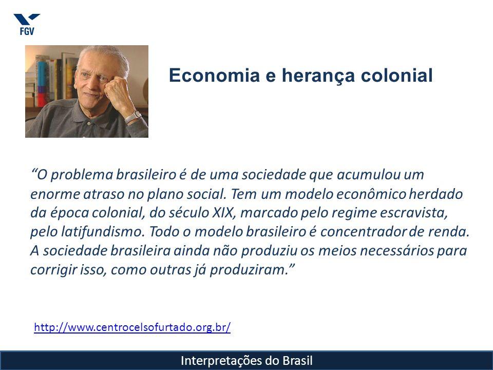 A perda histórica do Brasil: Crescimento sem desenvolvimento social Creio que todos os países do mundo não desenvolvido têm a possibilidade de mudar seu destino.