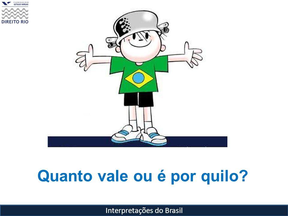 Interpretações do Brasil Para Roberto DaMatta, o que faz do Brasil, o Brasil?
