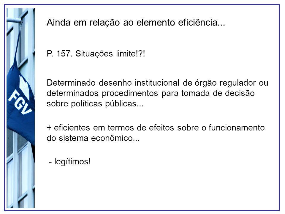 Agências Reguladoras no Brasil Burocracias tecnicamente especializadas dotadas de certo grau de autonomia decisória e com funções administrativas normativa, executiva e jurisdicional.