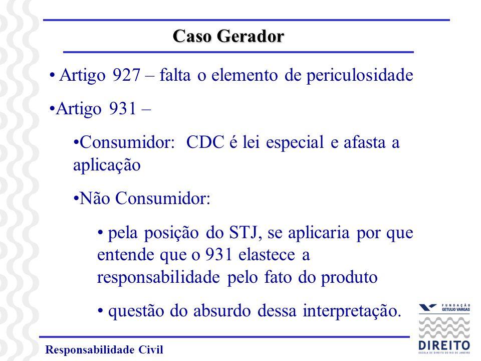 Responsabilidade Civil Principais Alterações no NCC Reparabilidade do dano moral puro (art.