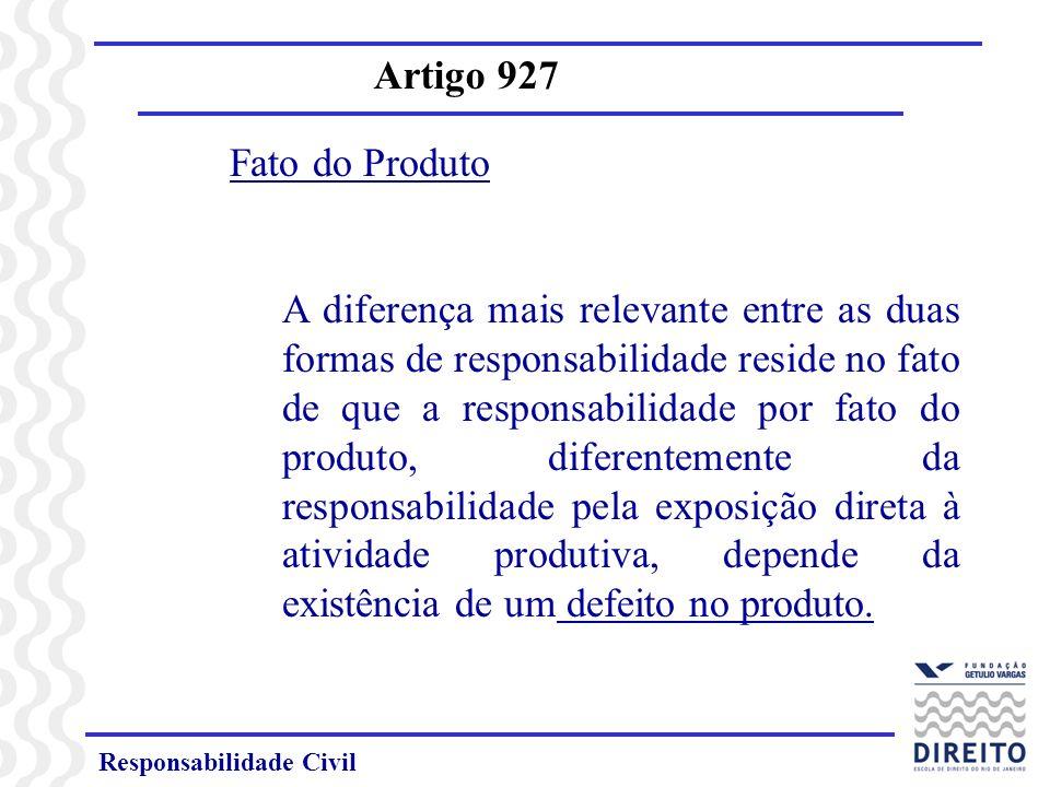 Responsabilidade Civil Artigo 927 Enunciado 38 – Art.