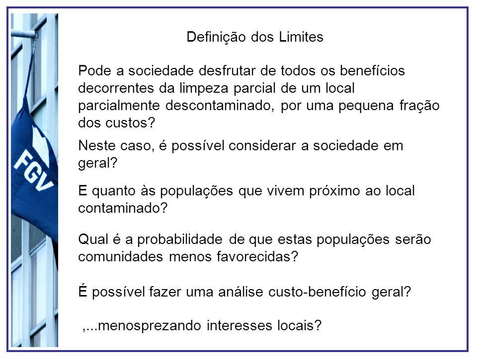 Principais Objeções às Soluções 1)Anti-democráticas; 2)Elitistas 3)Ineficiente; 4)Politicamente inaceitável