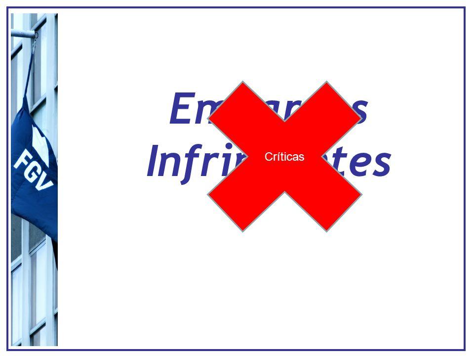 Embargos Infringentes Críticas