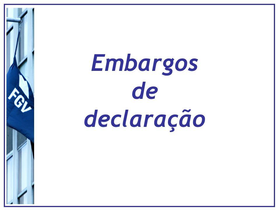 Embargos de divergência - Tribunais Decisão Turma Decisão Turma