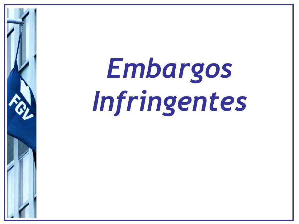Embargos infringentes - Tribunais Decisão Câmara/Turma Monocrática ou colegiada Decisão Câmara/Turma