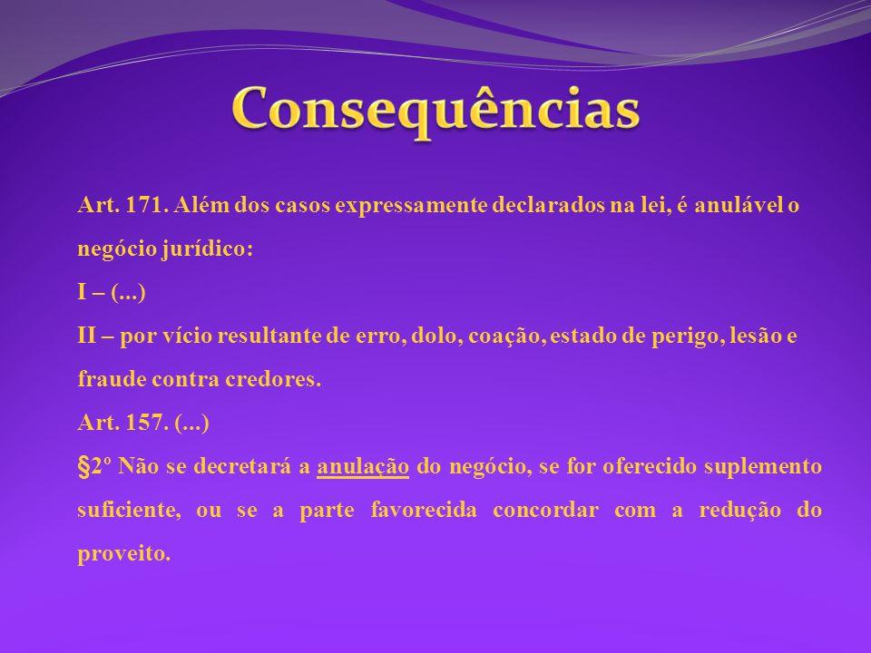 Contrato bilateral e oneroso Contrato aleatório Vício de consentimento Análise caso a caso Necessidade e inexperiência Nulidade pela ilicitude do objeto