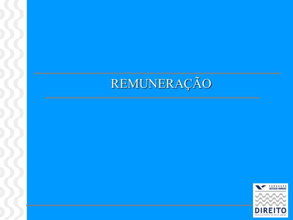Remuneração Conceito de Salário vs Remuneração (Art.