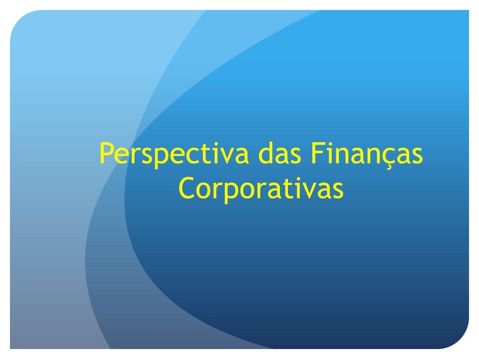 Perspectiva das Finanças Corporativas