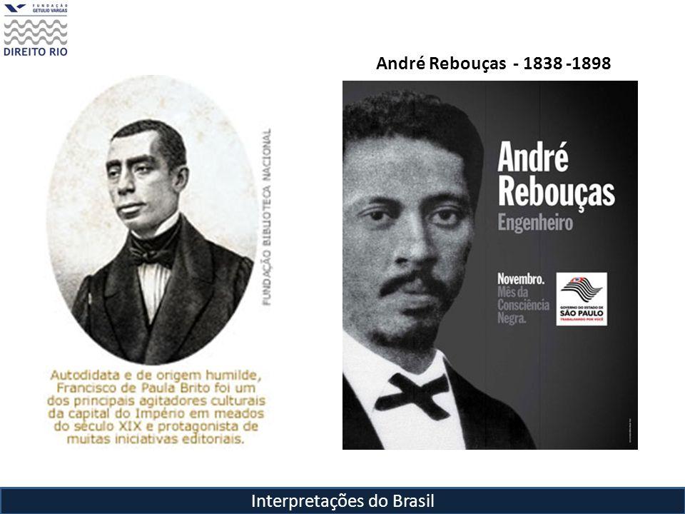 Interpretações do Brasil André Rebouças- 1838 -1898