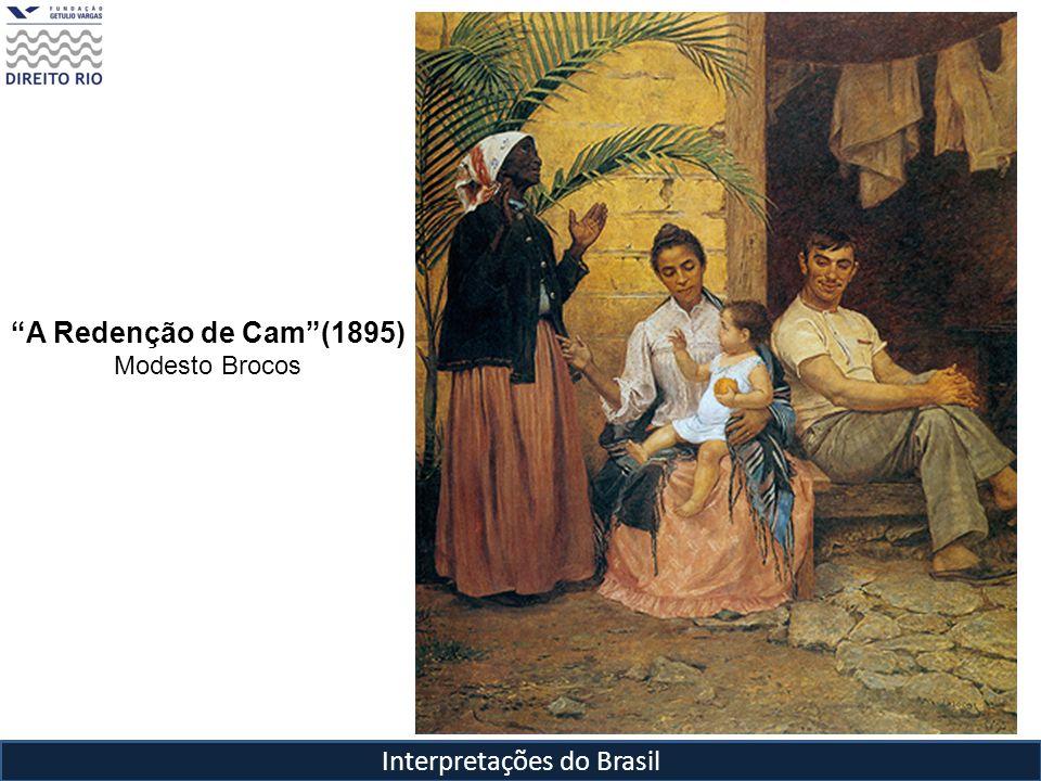Interpretações do Brasil A Redenção de Cam(1895) Modesto Brocos