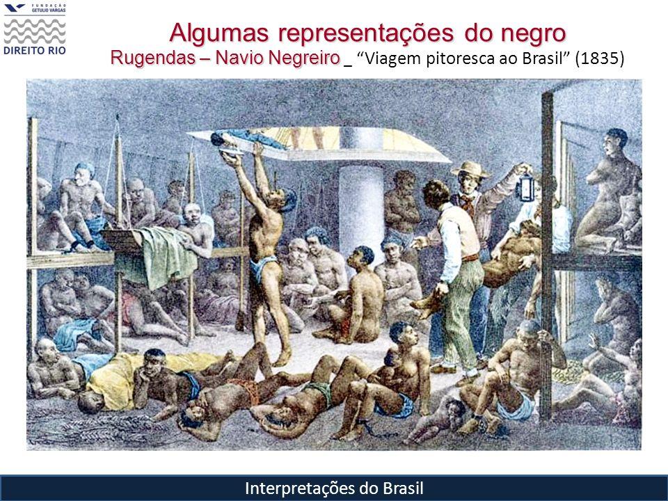 Interpretações do Brasil Algumas representações do negro Rugendas – Navio Negreiro Rugendas – Navio Negreiro _ Viagem pitoresca ao Brasil (1835)
