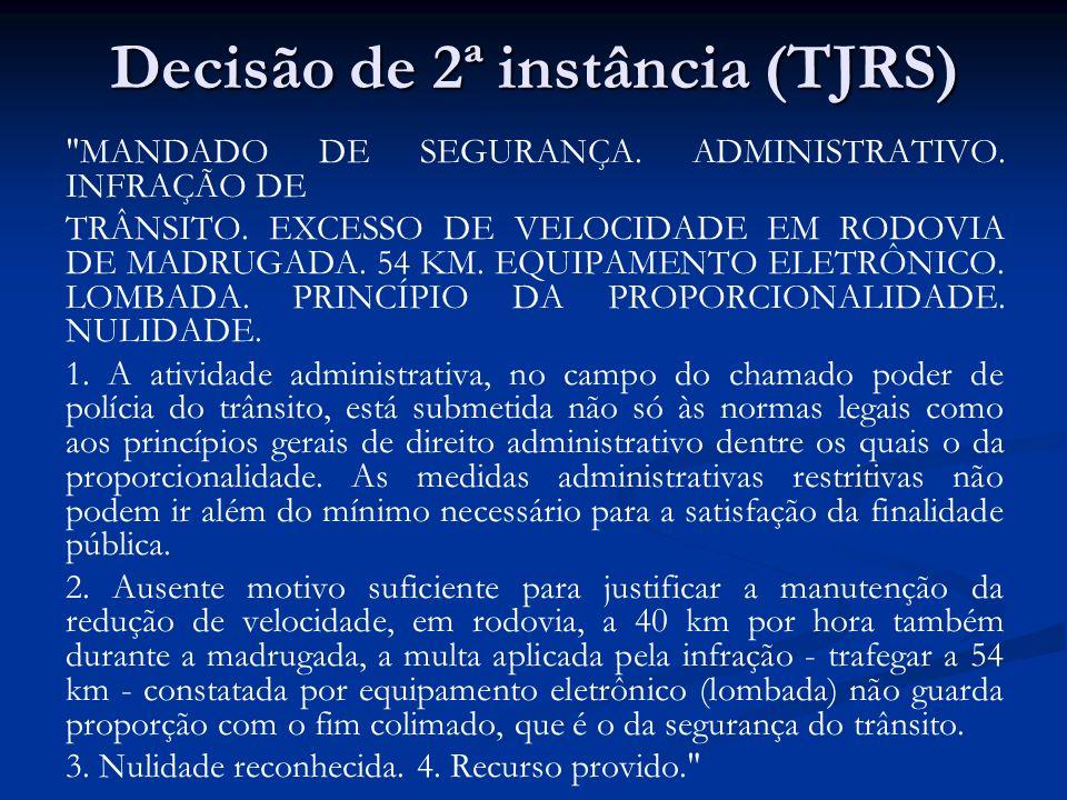 STJ, REsp 451.242 ADMINISTRATIVO.INFRAÇÃO DE TRÂNSITO.
