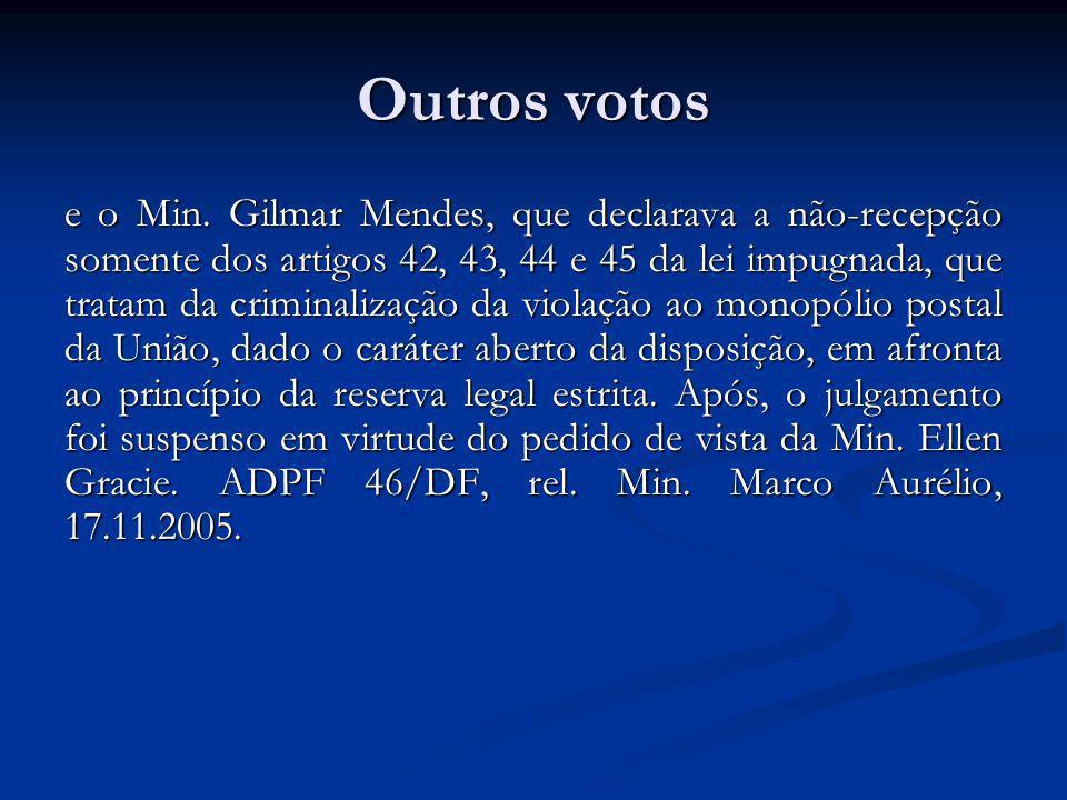 Voto Min.