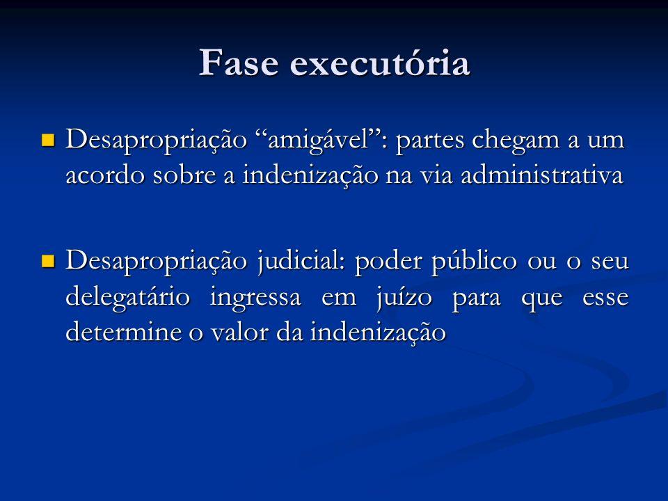 Fase executória Desapropriação amigável: partes chegam a um acordo sobre a indenização na via administrativa Desapropriação amigável: partes chegam a