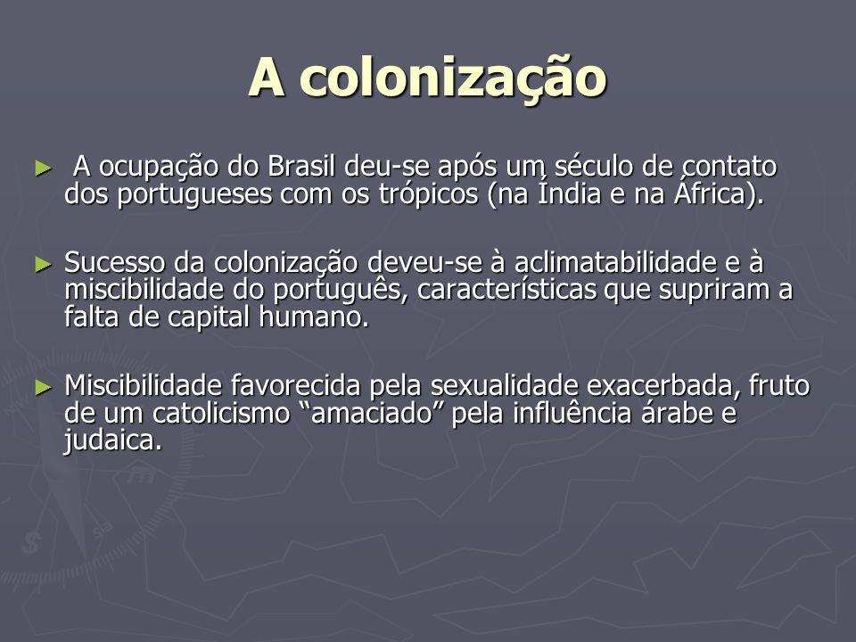 Miscibilidade: Nenhum povo colonizador, dos modernos, excedeu ou sequer igualou os portugueses na sua miscibilidade.