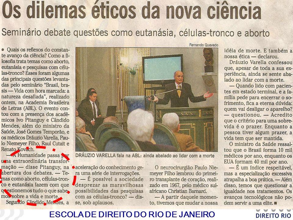 ESCOLA DE DIREITO DO RIO DE JANEIRO