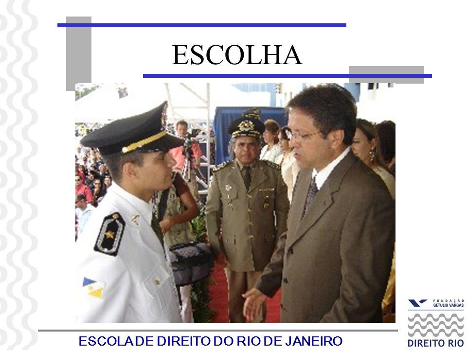 ESCOLA DE DIREITO DO RIO DE JANEIRO ESCOLHA
