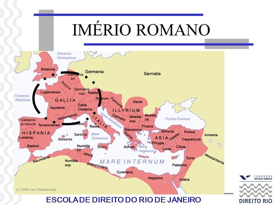 ESCOLA DE DIREITO DO RIO DE JANEIRO IMÉRIO ROMANO