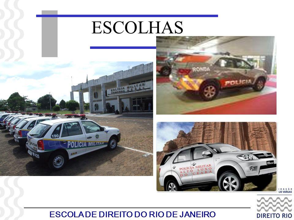 ESCOLA DE DIREITO DO RIO DE JANEIRO ESCOLHAS
