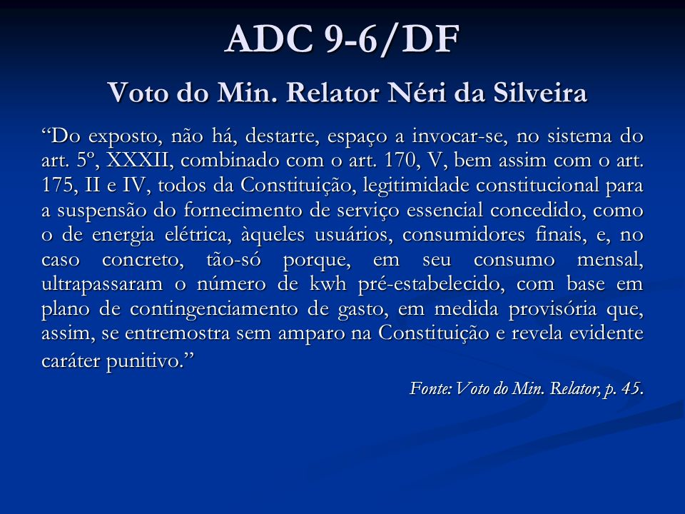 ADC 9-6/DF Voto do Min.