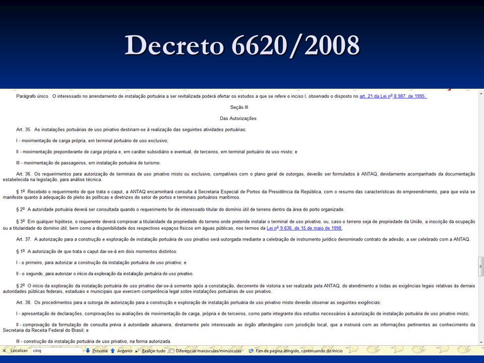 Decreto 6620/2008