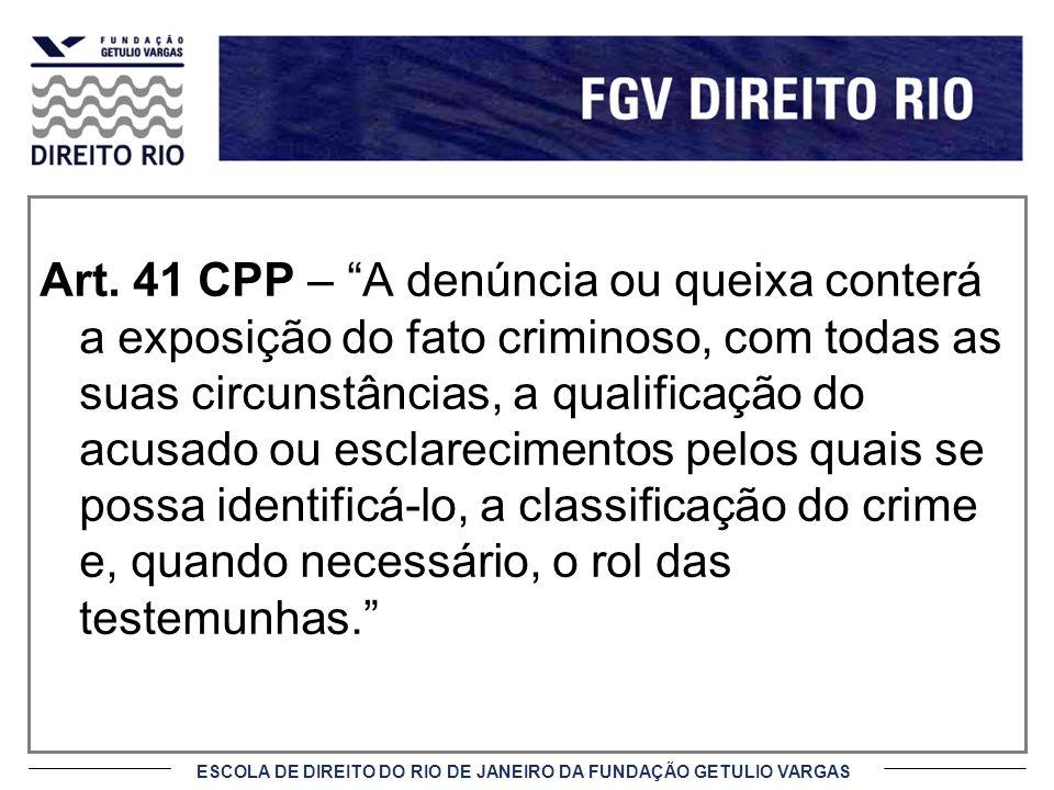 ESCOLA DE DIREITO DO RIO DE JANEIRO DA FUNDAÇÃO GETULIO VARGAS Art.