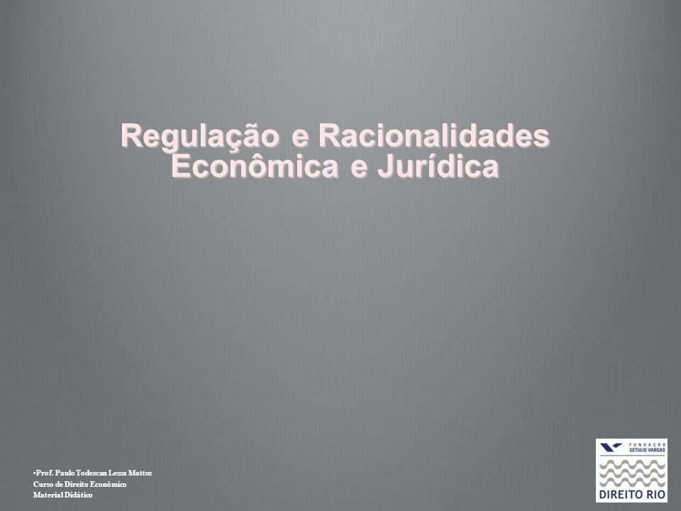 Prof. Paulo Todescan Lessa Mattos Curso de Direito Econômico Material Didático Regulação e Racionalidades Econômica e Jurídica