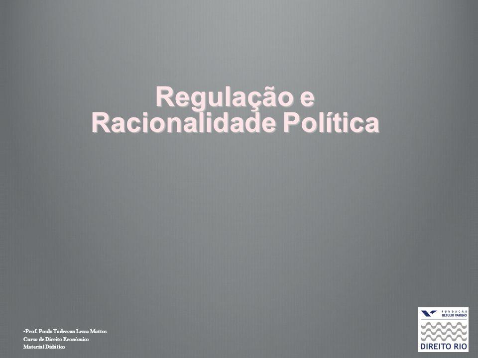 Prof. Paulo Todescan Lessa Mattos Curso de Direito Econômico Material Didático Regulação e Racionalidade Política