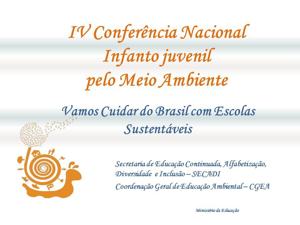 Contribuir para tornar as escolas participantes da IV Conferência em espaços educadores sustentáveis.