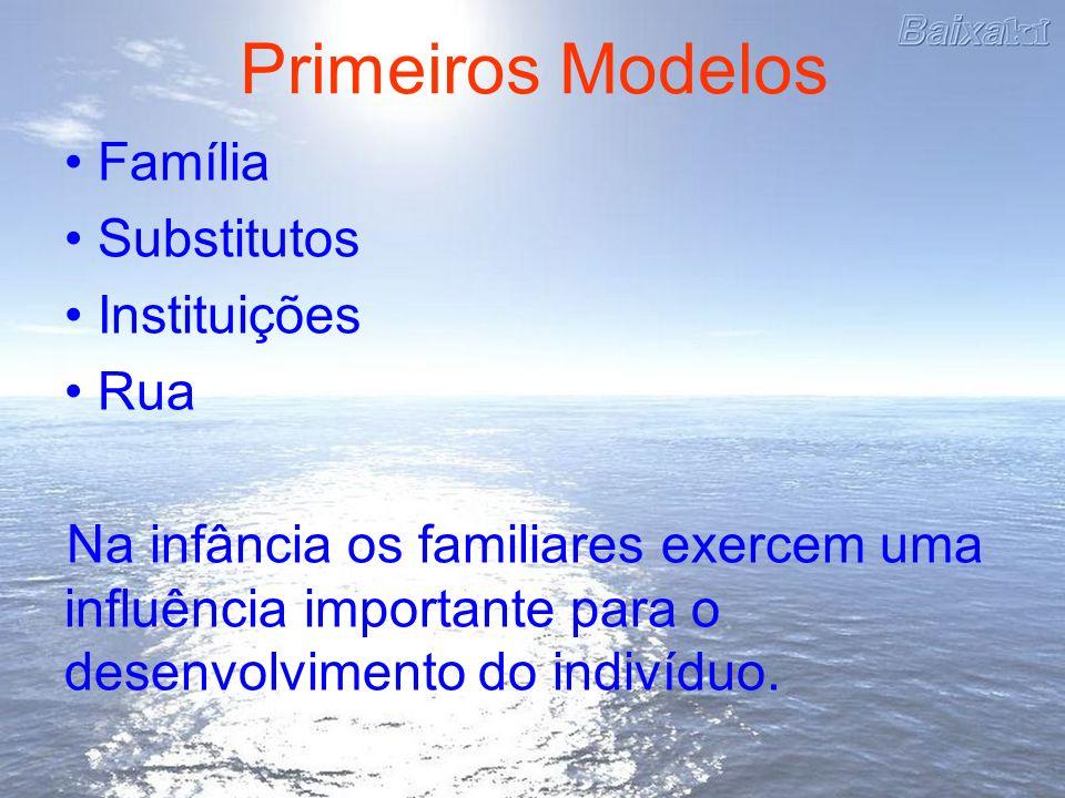 Primeiros Modelos Família Substitutos Instituições Rua Na infância os familiares exercem uma influência importante para o desenvolvimento do indivíduo