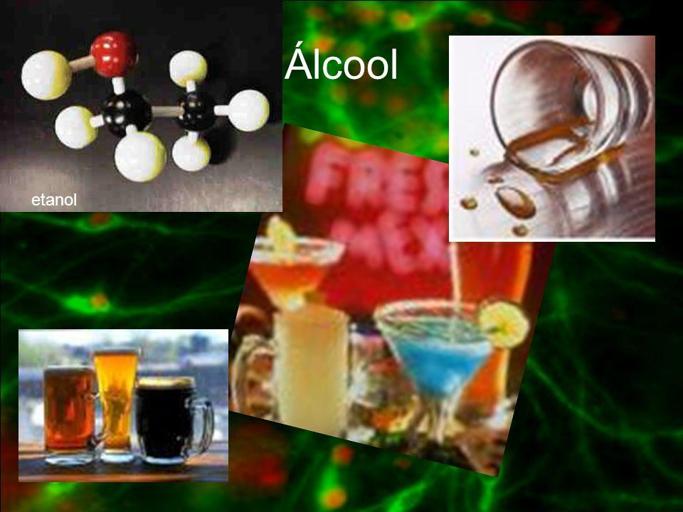 Estimulantes do S.N.C: Nicotina Cocaína Anfetamina CLASSIFICAÇÃO DAS SUBSTÂNCIAS PSICOATIVAS