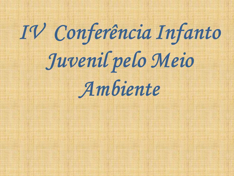 IV Conferência Infanto Juvenil pelo Meio Ambiente