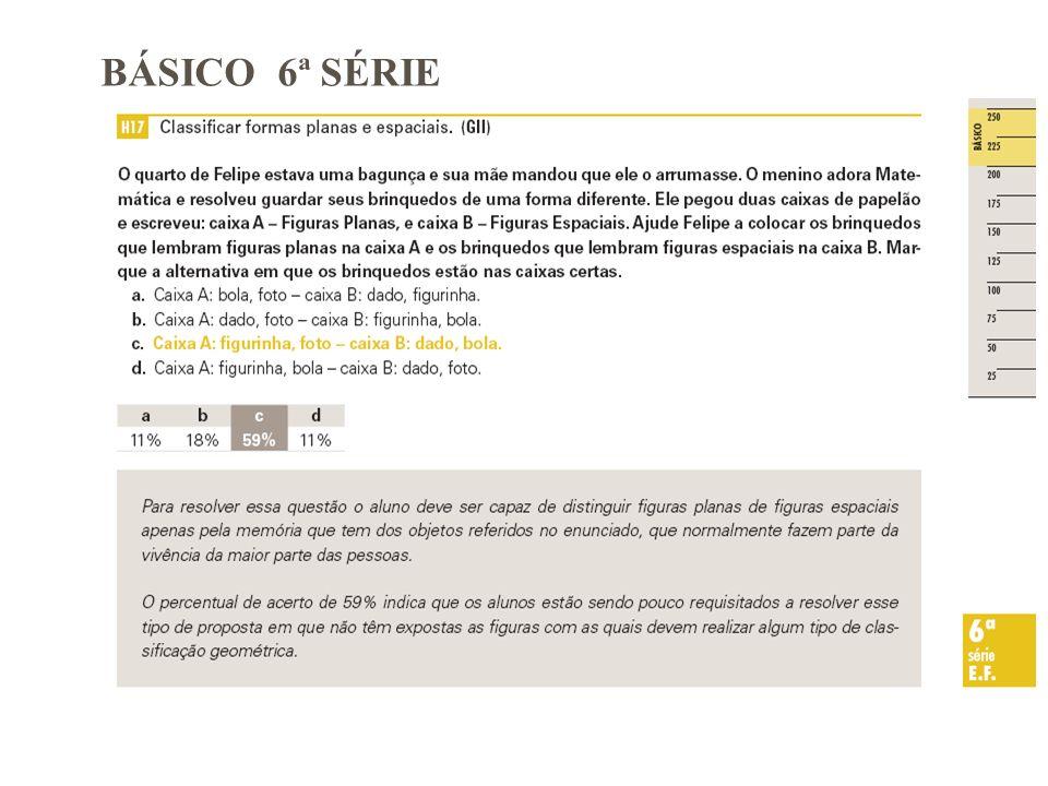 BÁSICO 6ª SÉRIE
