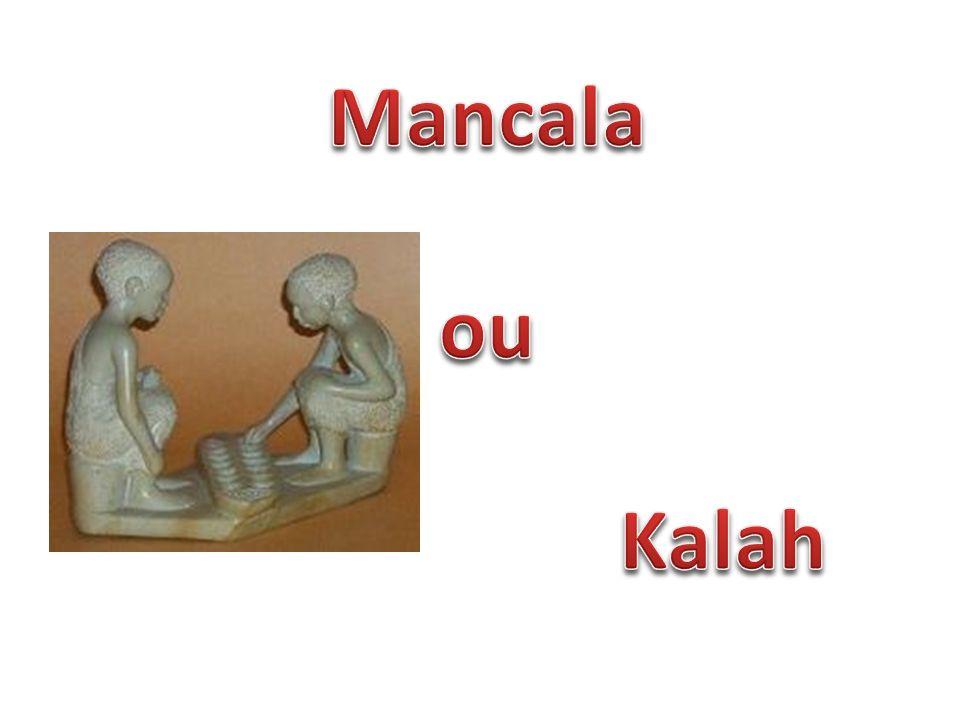 Mancala é uma família de jogos de tabuleiro jogada ao redor do mundo, algumas vezes chamada de jogos de semeadura ou jogos de contagem e captura.jogos de tabuleiro Jogos de mancala possuem um papel importante em muitas sociedades africanas e asiáticas, comparável ao do Xadrez no Ocidente.africanasasiáticasXadrez