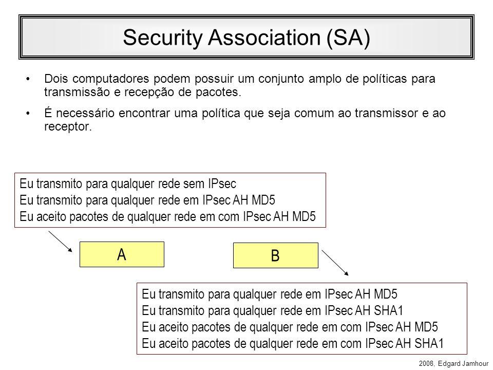 2008, Edgard Jamhour Associação de Segurança SA: Associação de Segurança –Contrato estabelecido após uma negociação que estabelece como uma comunicaçã