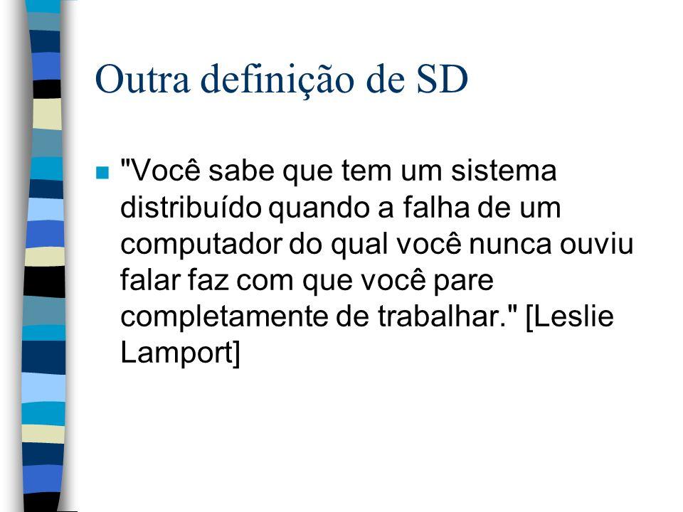 Outra definição de SD n