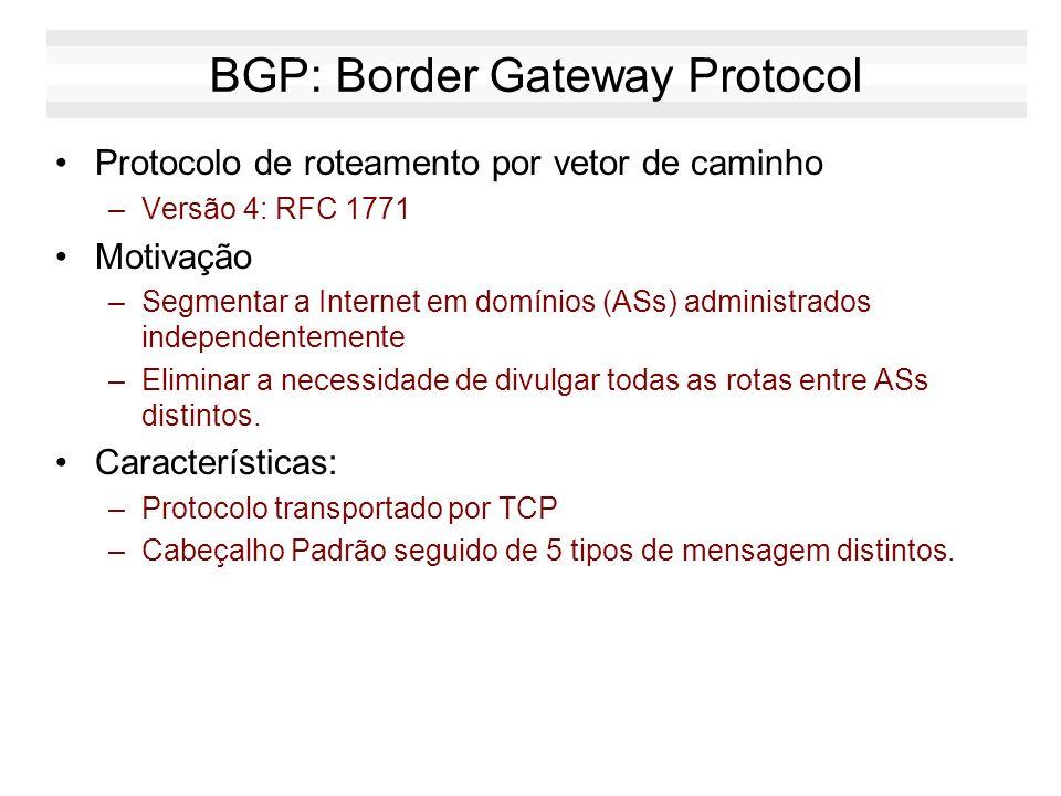 EGP - Exterior Gateway Protocols BGP