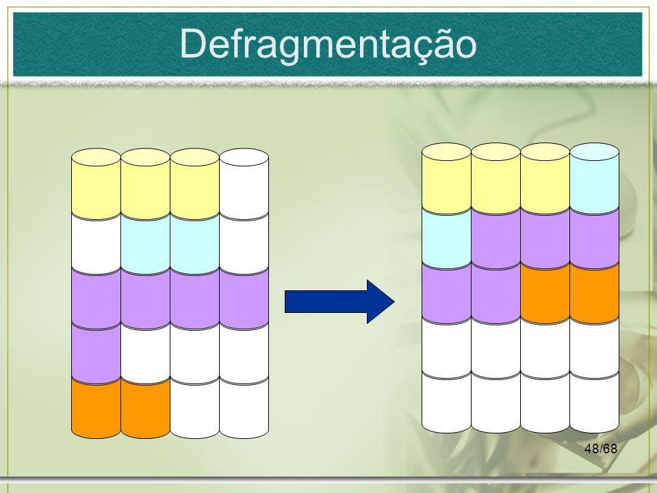 48/68 Defragmentação