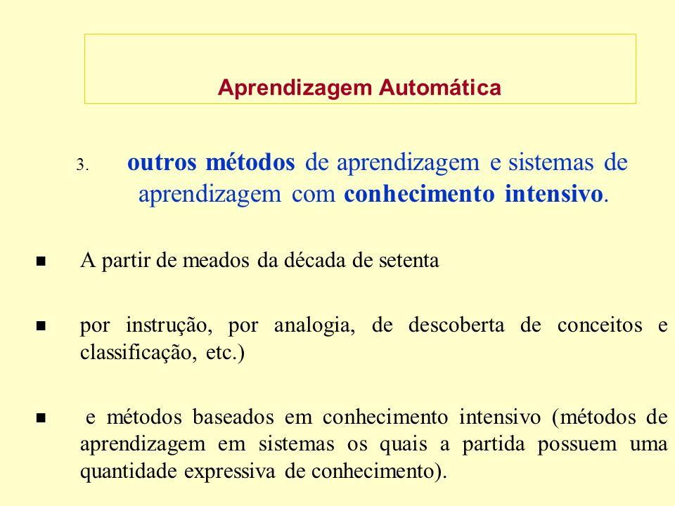 Aprendizagem Automática 3.