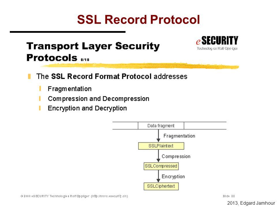 2013, Edgard Jamhour SSL/TLS
