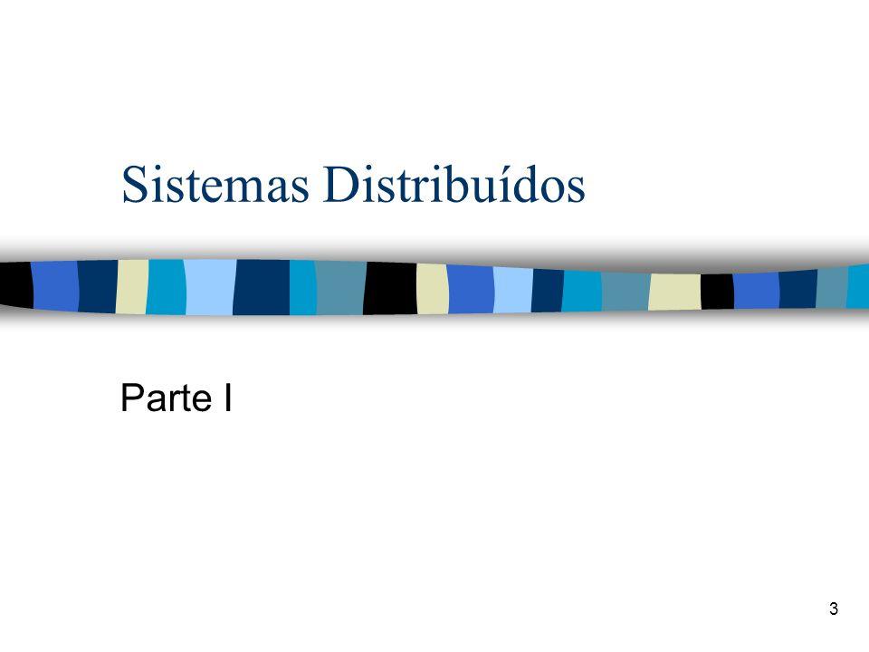3 Sistemas Distribuídos Parte I