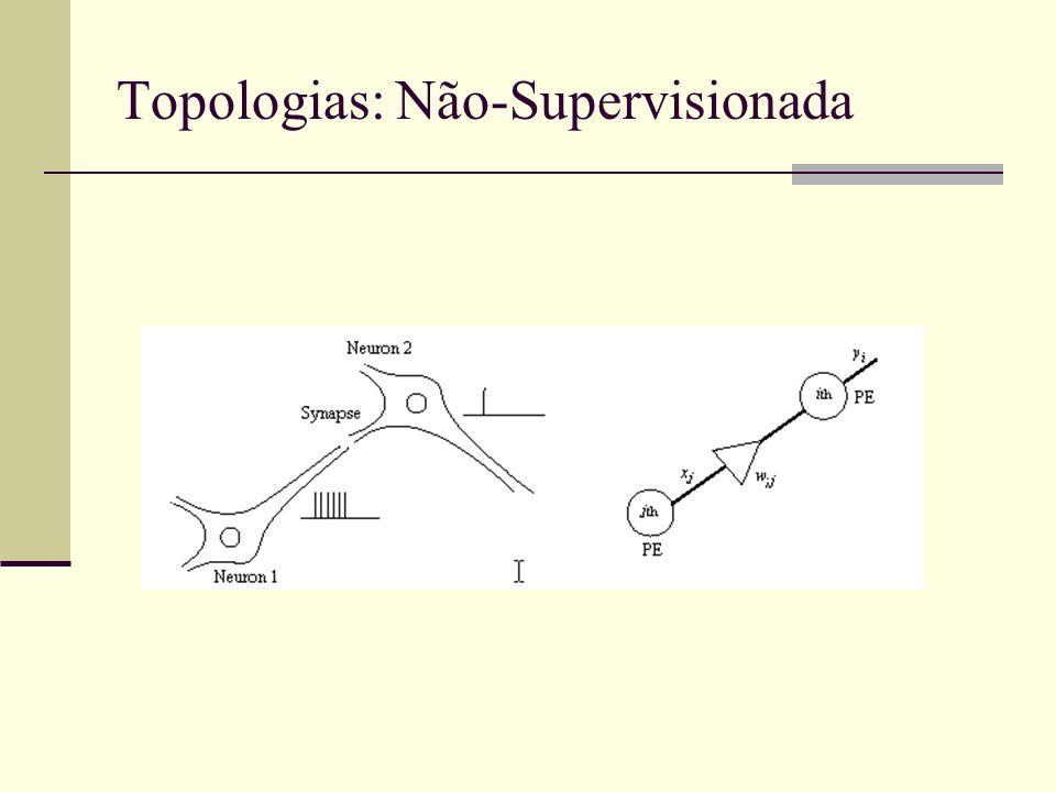 Topologias: Não-Supervisionada