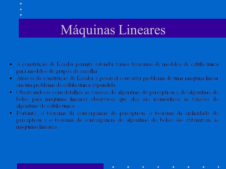Máquinas Lineares
