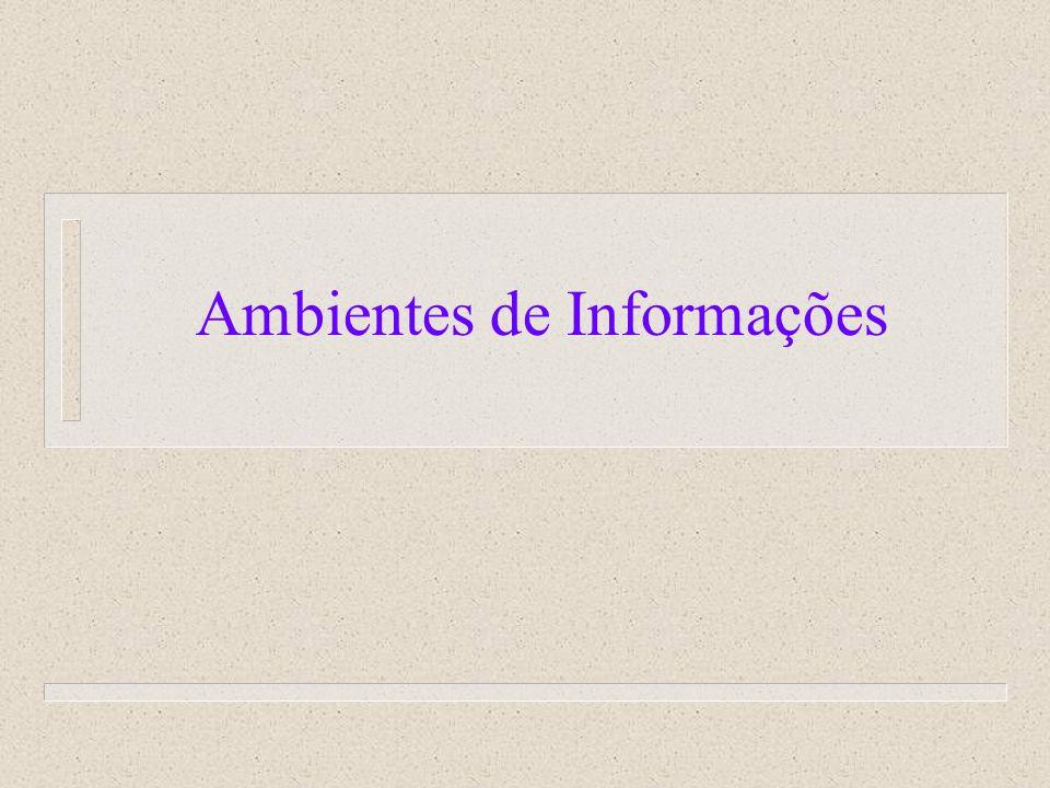 Ambientes de Informações