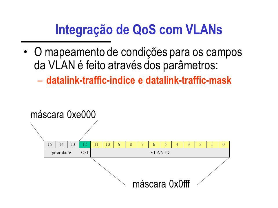 Configurando com trunk Configurando o switch com trunk: – set trunk 1/19 dot1q – set port vlan-binding-mode 1/19 bind-to- configured Configuração da p