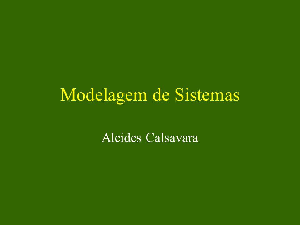 Alcides Calsavara22 Estrutura de uma Classe Uma classe contém um conjunto de atributos e um conjunto de métodos –os atributos devem ter nomes distintos –os métodos devem ter assinaturas distintas Cada objeto possui um conjunto próprio de valores dos atributos e o conjunto de métodos da sua classe.