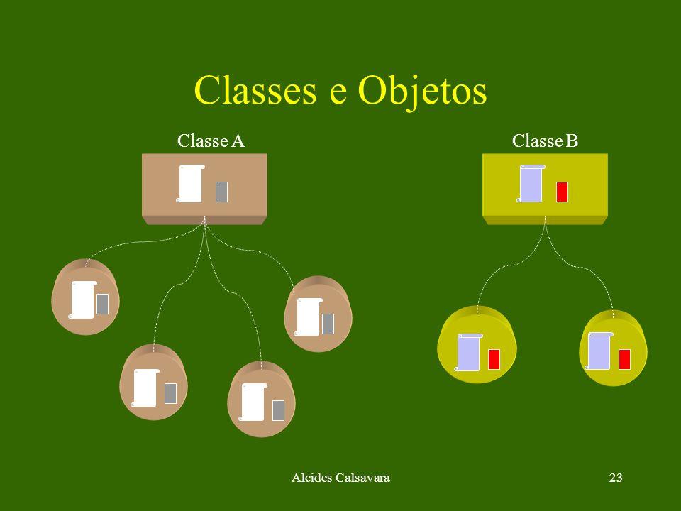 Alcides Calsavara23 Classes e Objetos Classe AClasse B