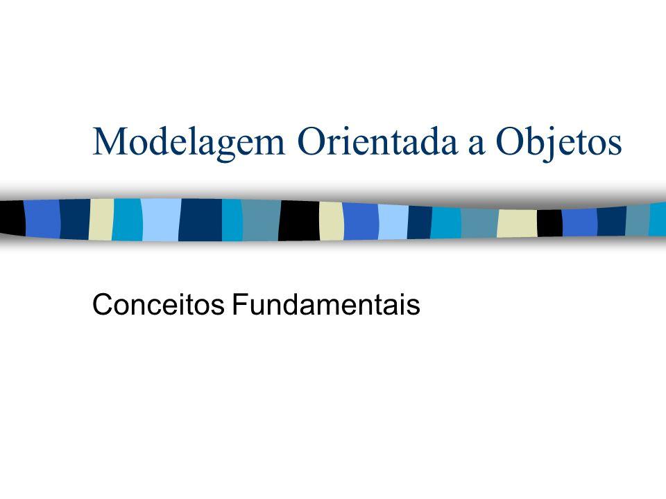 Modelagem Orientada a Objetos Conceitos Fundamentais