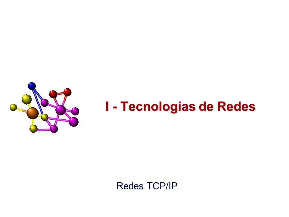 Redes TCP/IP I - Tecnologias de Redes