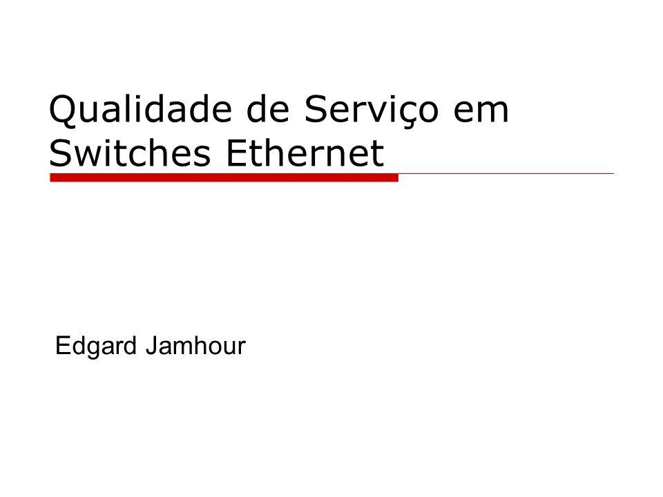Qualidade de Serviço em Switches Ethernet Edgard Jamhour